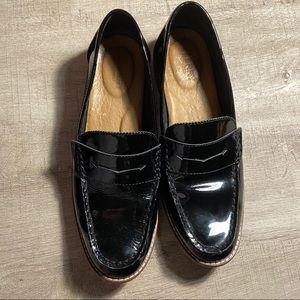 SPERRY Seaport Patent Leather Loafers 9
